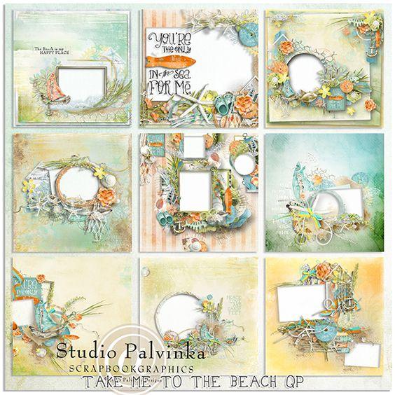 Palvinka Designs: Take Me To The Beach QP & FREE GIFT