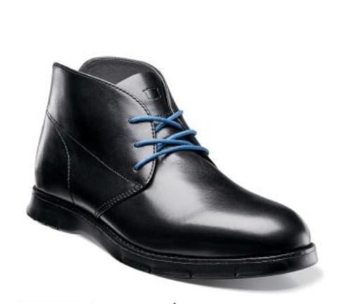 New Florsheim Flites Chukka Boot Mens Shoes Leather Black ...