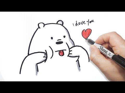 رسم الدببة الثلاثة كيف ترسم دب قطبي بالخطوات Youtube 3 Bears Fictional Characters Character