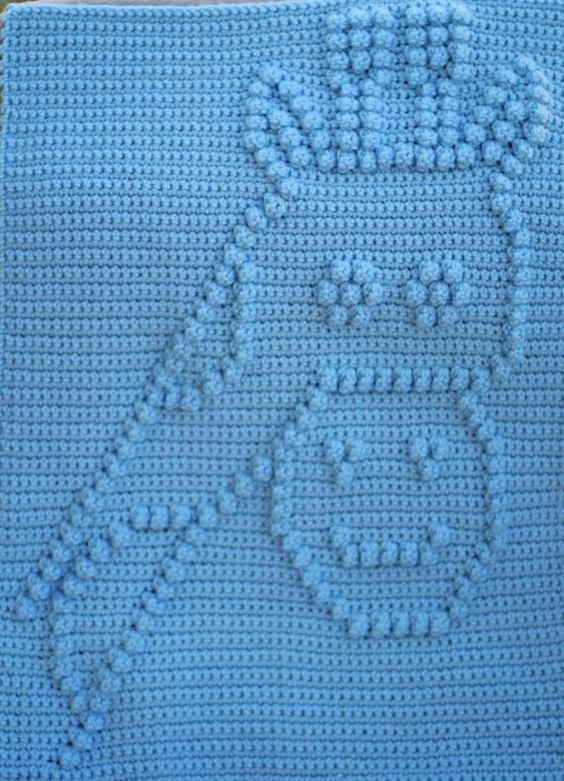 Crochet Pattern - Crochet Baby Blanket - Baby Snuggle ...