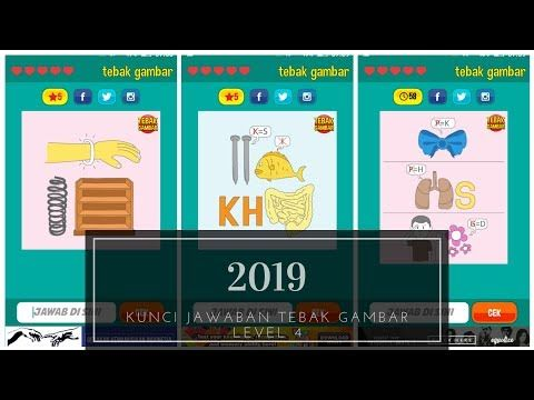 Kunci Jawaban Tebak Gambar Level 4 2019 Youtube Gambar