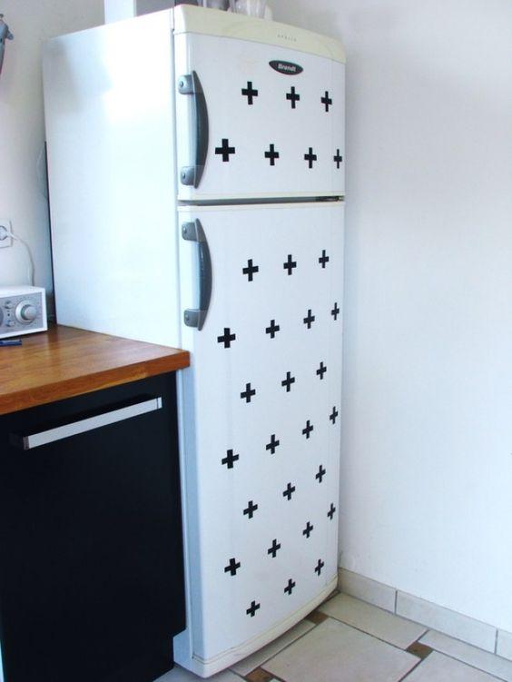diy id es deco avec du masking tape pinterest d co masquage et diy. Black Bedroom Furniture Sets. Home Design Ideas