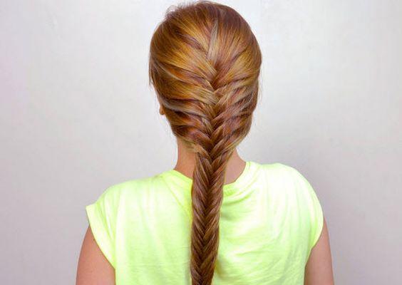 Thắt bím tết tóc