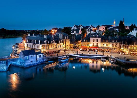 Le port de saint goustan morbihan france beauty for Agence paysage vannes