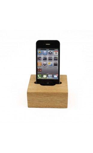Dock bois pour iphone 4 et 5