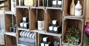 DIY Wine Crate Storage Projects