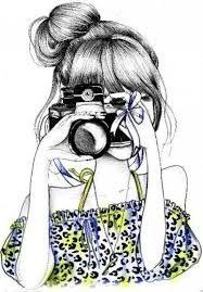 Resultado de imagem para desenhos meninas em preto e branco