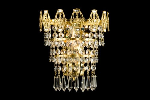 Crystal wall sconces Luxury home decor accessories Edmonton