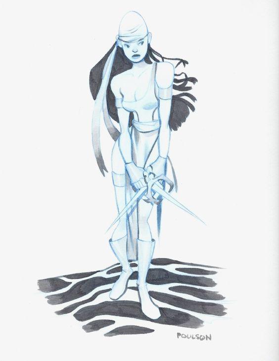 Elektra by Cassandra Poulson