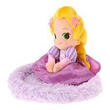 Disney Store Princess Rapunzel jewelry tray Plush JAPAN