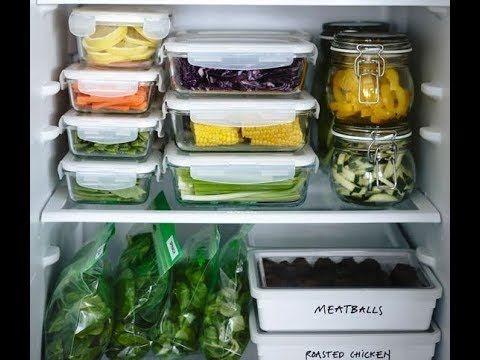 أفضل الافكار لـ ترتيب الثلاجة الصغيرة 2018 Cabinets Organization Mason Jars Closet Storage