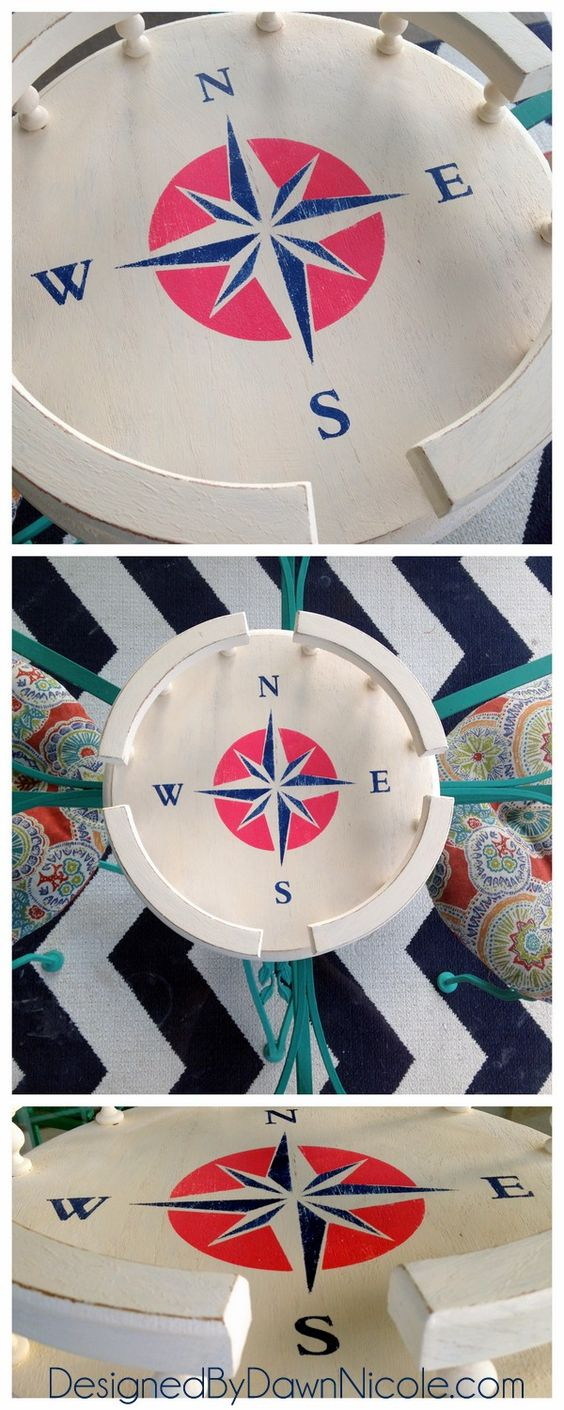 DIY Vintage Lazy Susan Makeover