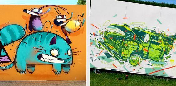 O traço insano de Monsta Julien - Traços fortes e agressivos são característicos nas ilustrações de Monsta Julien. Confira sua arte insana!