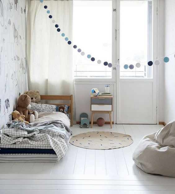 mommo design: SIMPLE, SOFT AND NATURAL KID'S ROOMS: