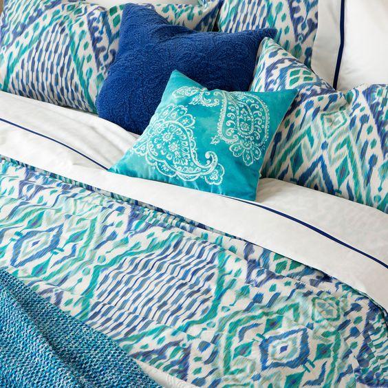 Ikat Print Bedding - Bed Linen - Bedroom   Zara Home United States of America