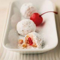 Cherry-Walnut Balls