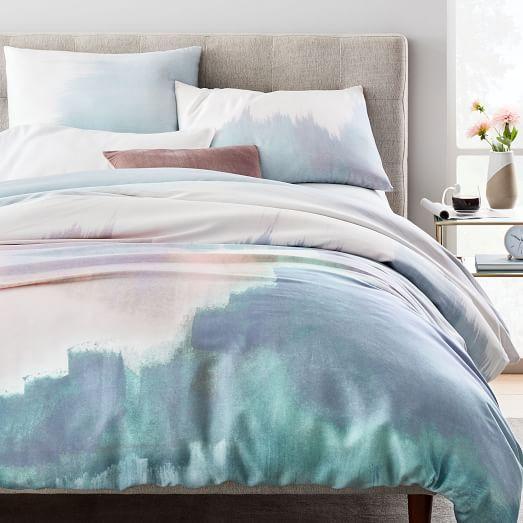 Tencel Abstract Landscape Duvet Cover Shams Linen Duvet Covers Duvet Covers Bed Linen Australia