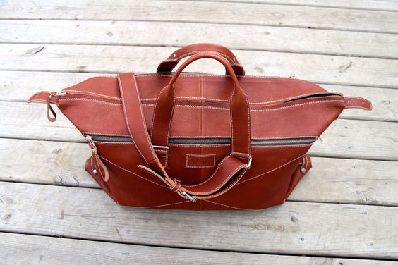 Eli Weekender Travel Bag.  Carry on Size.  Check it out at www.amosbrand.com