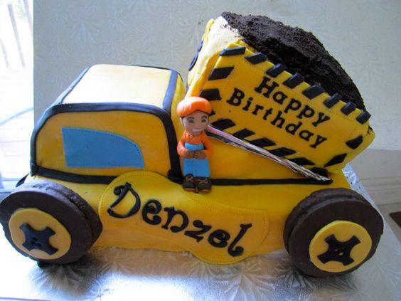 Dump Truck Construction Cake