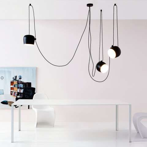 Aim Pendelleuchte Im 3er Set Lampen Bad Moderne Deckenbeleuchtung Beleuchtung Decke