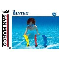 Piscina Intex e giochi per bambini