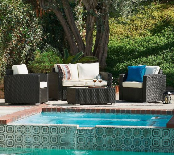 Cleveland Rattan Garden Furniture Outdoor Conservatory Sofa Set NEW - Black https://t.co/FyZFXBhcSX https://t.co/JB2oslbMpc