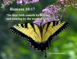 Image result for poster Rom_10:17  So then faith cometh by hearing, and hearing by the word of God.