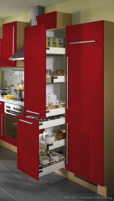 Modern kitchen pantry ideas