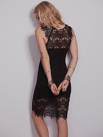 Free People Peek a Boo Dress £45.00 - Loungewear - Outerwear Luxury Lingerie and Designer Lingerie Online Boutique