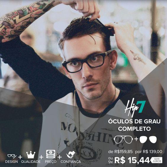 Tem novidade chegando no site, os lindos óculos da Hip7 estão com um preço incrível, você leva o óculos completo (armação  + lente) á partir de R$139,00. Já conferiu? http://ow.ly/Rj1sh