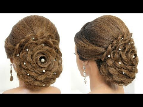 Bridal Updo Tutorial Wedding Prom Hairstyles For Long Hair Youtube In 2020 Prom Hairstyles For Long Hair Long Hair Styles Hair Styles