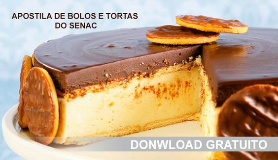 Apostila de Bolos e Tortas do Senac | Creative