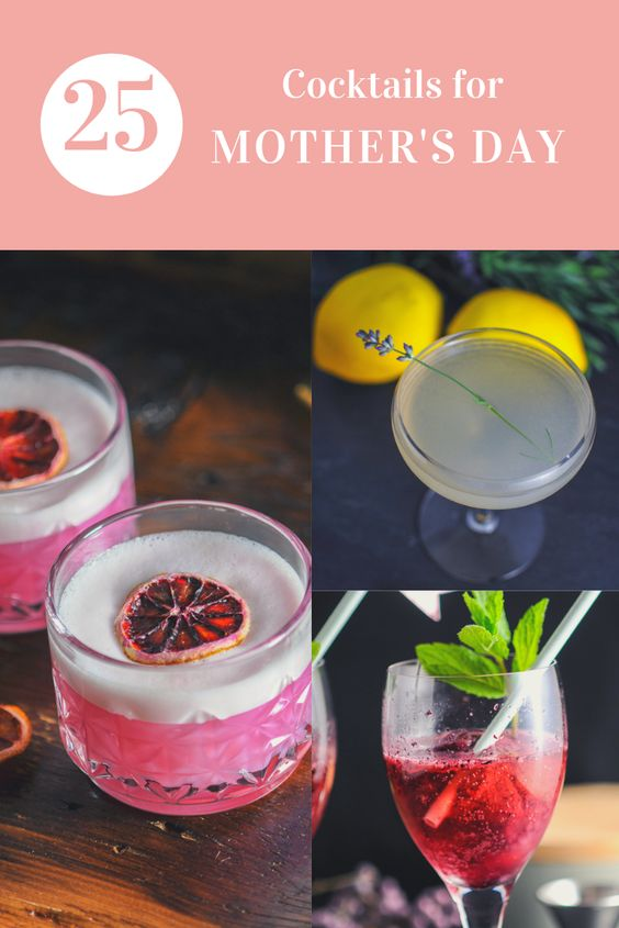 25 Cocktails for Mother's Day