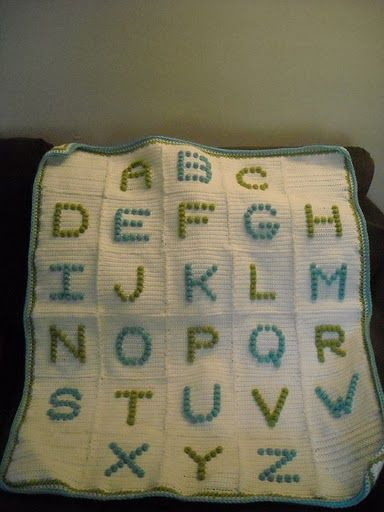 Free Knitting Pattern For Alphabet Blanket : Pinterest   The world s catalog of ideas