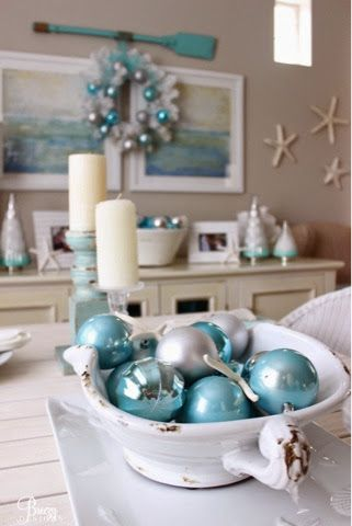 Breezy Designs: Coastal Christmas! | Xmas decor/recipes ...