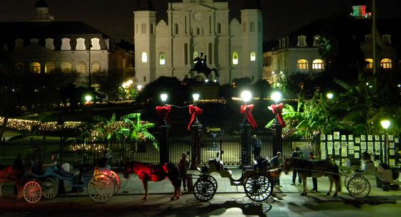 christmas in new orleans 2013   Holiday magic in Jackson Square (Photo courtesy of monkeyonthemoonblog ...