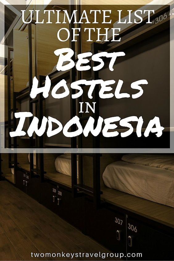 Ultimate List of The Best Hostels in Indonesia Providing you the ultimate list of the BEST HOSTELS IN INDONESIA – includes rates, locations and great reviews that will definitely help you with your stay in the astounding cities of Indonesia!  In this arti