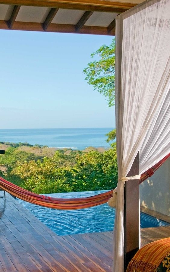 Hang around in a hammock in your own private villa.: