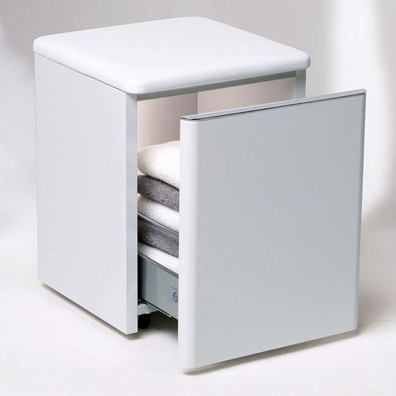 Handy concealed storage  Ideal Standard SoftMood Trolley Unit on Wheels   UK Bathrooms. Handy concealed storage  Ideal Standard SoftMood Trolley Unit on