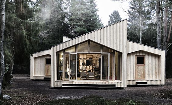 An Entire House That You Snap Together, Like A Toy