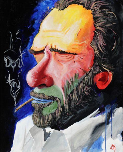 Words Dance: Poem Art : Happy Birthday Charles Bukowski