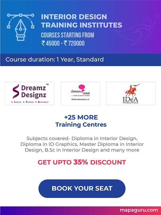 Best Institutes Providing Courses In Interior Designing In