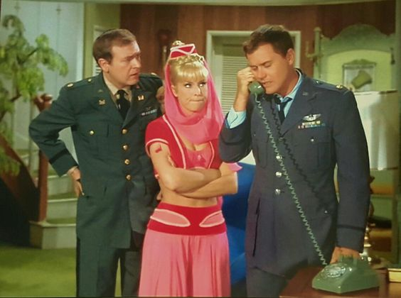 """I Dream of Jeannie"" Season 3 Episode ""My Master, the Weakling"" 1967-1968"