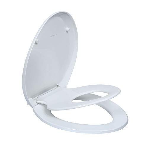 Elongated Toilet Seats With Built In Potty Training Seat Fits