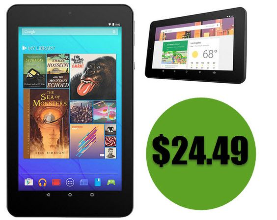 """Sears: Ematic 7"""" HD Quad-Core Tablet $24.49 After Points *HOT* - http://www.swaggrabber.com/?p=280554"""
