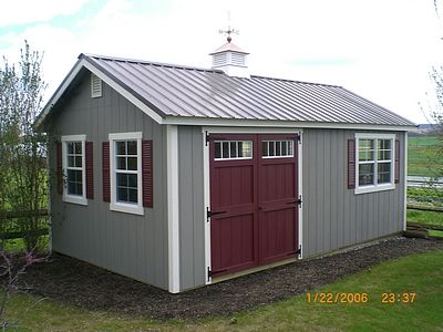 l shaped shed outdoor plans pinterest shapes gardens and tiny houses - Garden Sheds Workshops