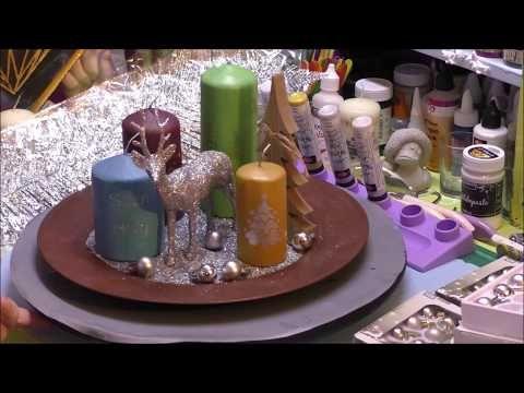 Kerzen Bemalen Mit Inka Silk Oder Kerzen Wachs Pen Youtube