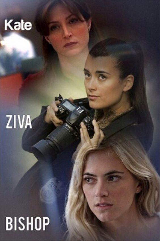 Ženy NCIS - Kate, Ziva a Ellie