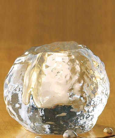 Take a look at this tag Snowball Glass Tea Light Candleholder by Next Christmas Collection on #zulily today!