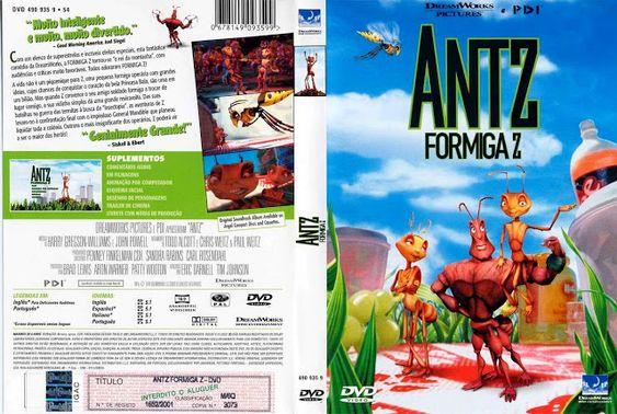 Antz Formiguinha Z 1998 Em Dvd R Black39 Acervo Com Imagens